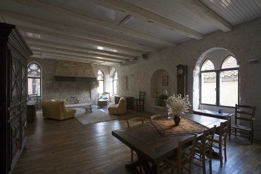 Maison Daura, intérieur, grande salle