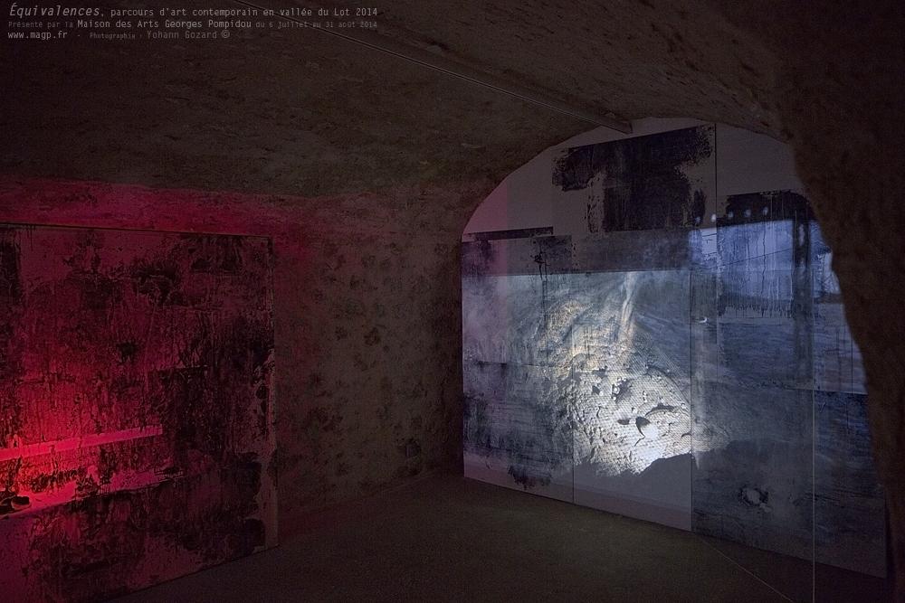 Parcours d'art contemporain en vallée du Lot 2014 Laura Emsley