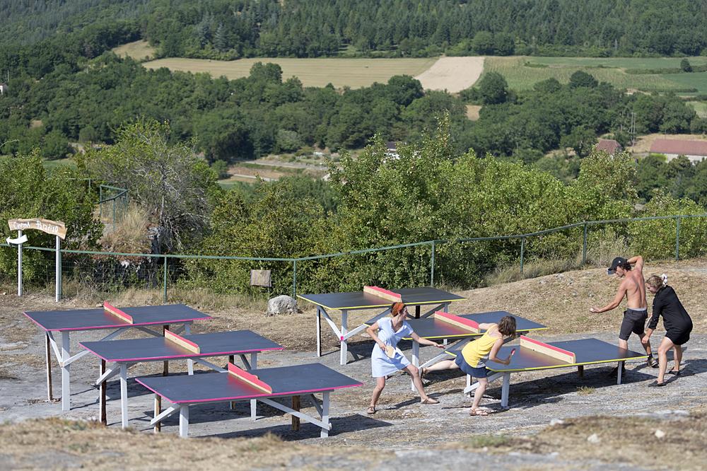 Ping-Pong Club, au Rocher de la baume, Calvignac