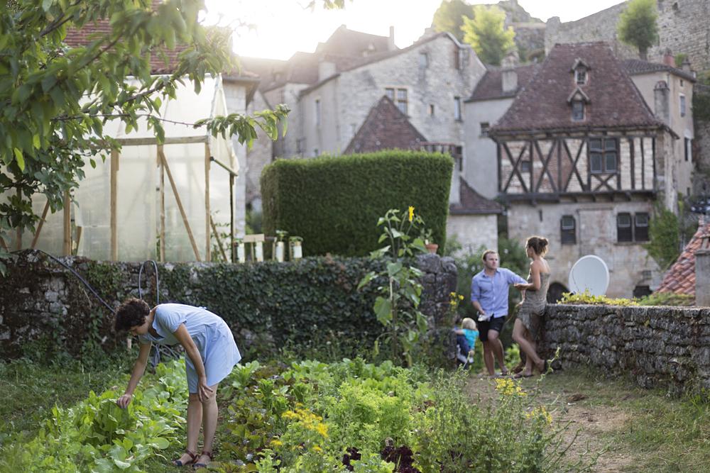 La maquette vivante, Jardins des Maisons Daura, Saint-Cirq Lapopie