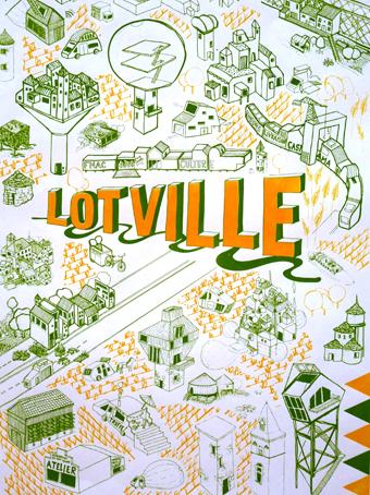 RAUMLABORBERLIN, Lotville, l'affiche