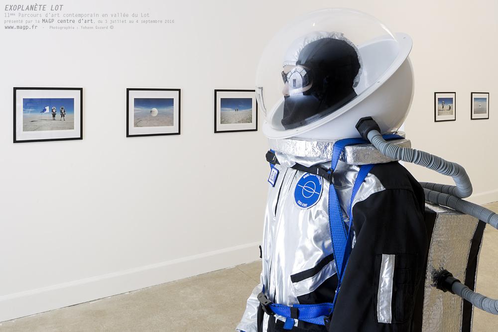 """""""EXOPLANÈTE LOT""""11ème Parcours d'art contemporain en vallée du Lotprésenté par la MAGP centre d'art, du 3 juillet au 4 septembre 2016www.magp.fr(Photographie : Yohann Gozard ©)"""