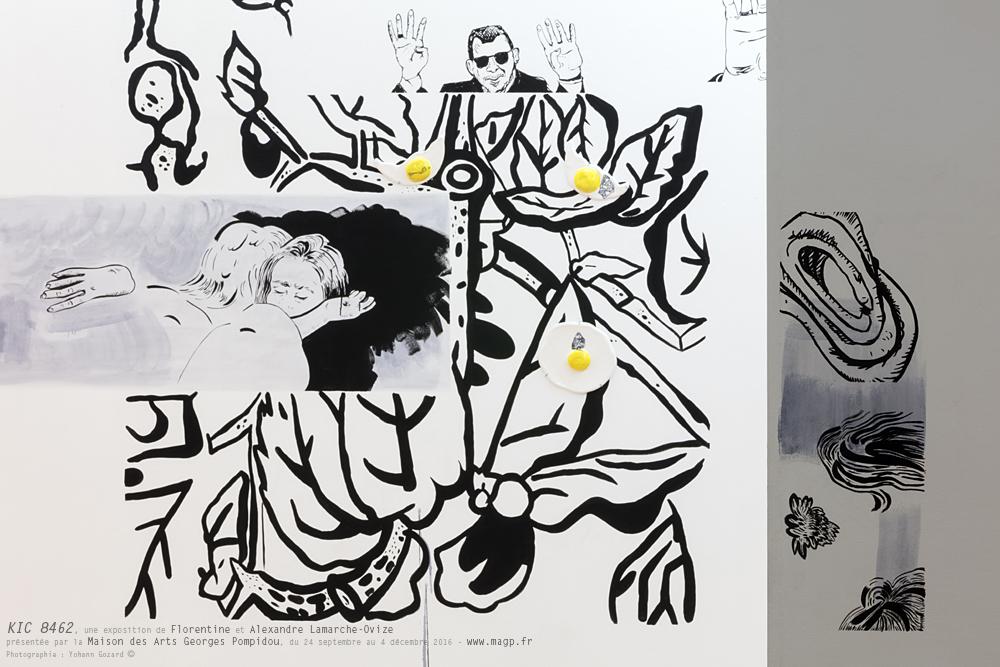 """""""KIC 8462"""", une exposition de Florentine & Alexandre Lamarche-Ovizeprésentée par la Maison des Arts Georges Pompidou, du 24 septembre au 4 décembre 2016 - www.magp.frPhotographie : Yohann Gozard ©"""