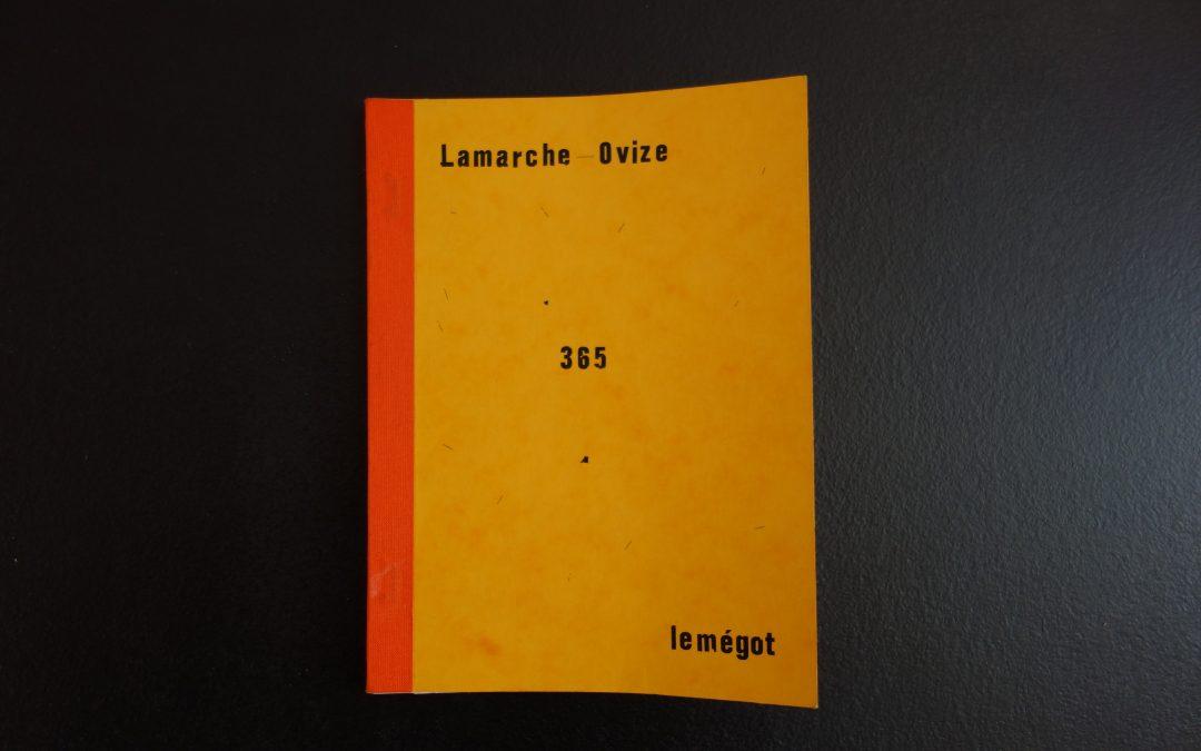 365Florentine & Alexandre Lamarche-Ovize