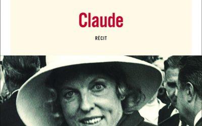 Signature du livre «Claude. C'était ma mère»
