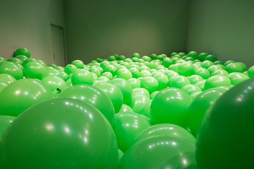 Martin Creed, Work n° 262, 2001. Collection-of-FRAC-Languedoc-Roussillon. Photo M. Brucker