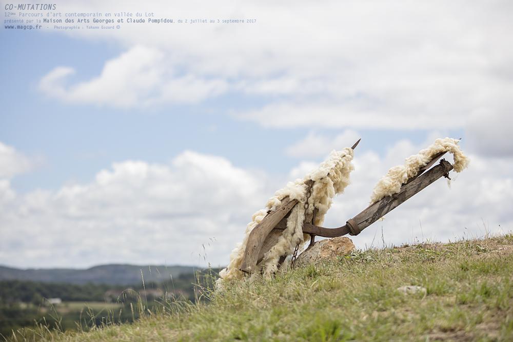 """""""CO-MUTATIONS""""12ème Parcours d'art contemporain en vallée du Lot,présenté par la Maison des Arts Georges et Claude Pompidou,du 2 juillet au 3 septembre 2017www.magcp.fr(Photographie : Yohann Gozard ©)"""
