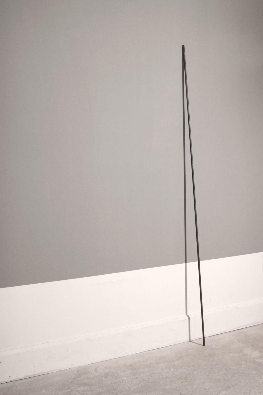 Métal et ombre, 210cm, 2017