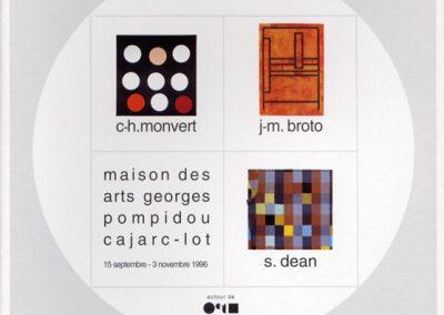 Cercles et Carrés, MONVERT, BROTO, DEAN