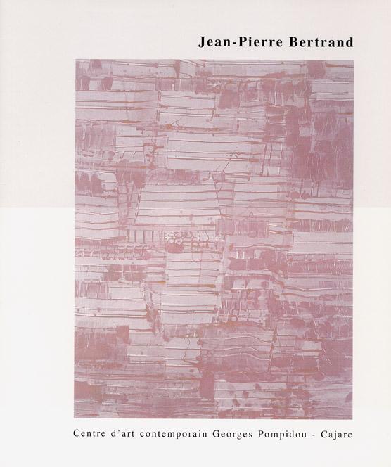 Jean Pierre BERTRAND, Travaux 1998-2001