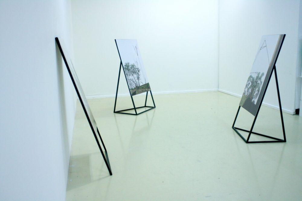 """Quentin L'helgoualc'h, """"Binômes"""", métal, impression photo, Montpellier, 2016"""