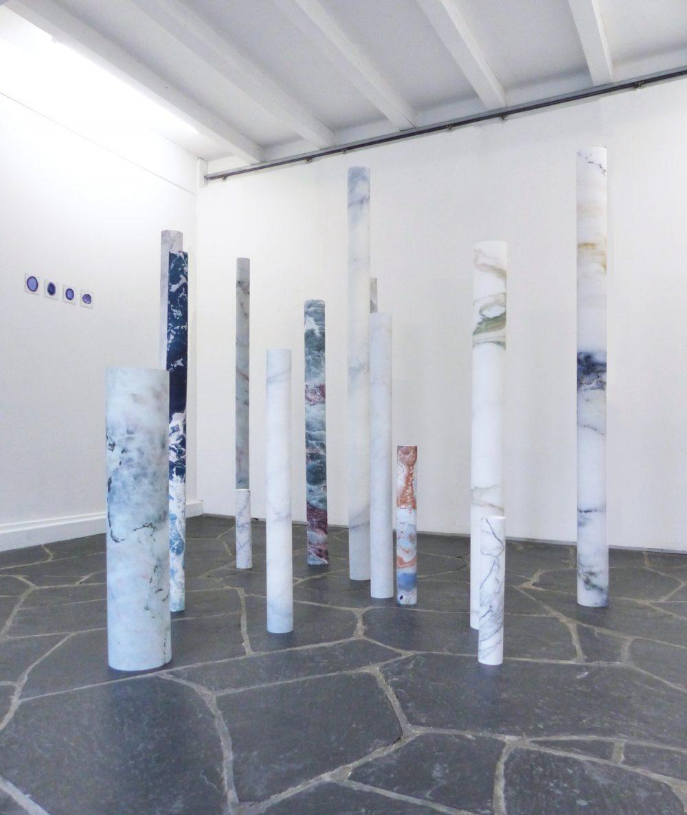 """Lyse Fournier, """"Coring"""", impression numérique sur papier, dimensions variables. 2017."""
