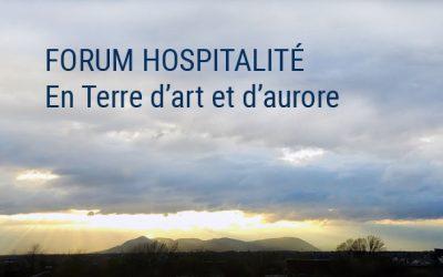 FORUM «HOSPITALITÉ» & LANCEMENT DE PUBLICATION