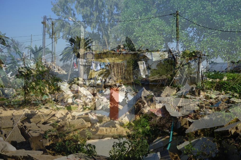 Abderrahmane Abderrahmane Doukkane, Un Oued qui traversait ma ville 04, 60x90 cm, double exposition  04_1000x660
