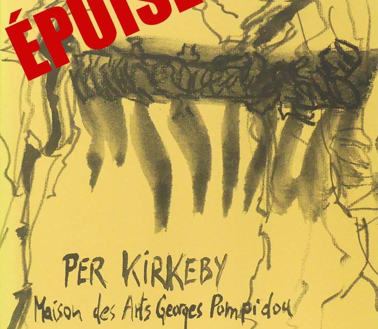 Per KIRKEBY, PEINTURES 1992-1996