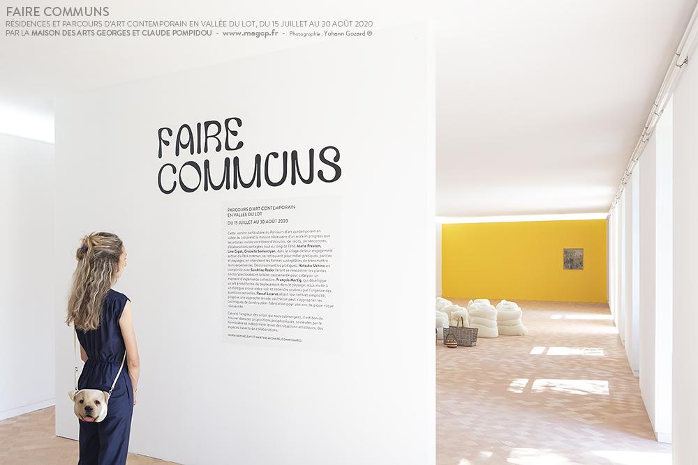 Accueil centre d'art