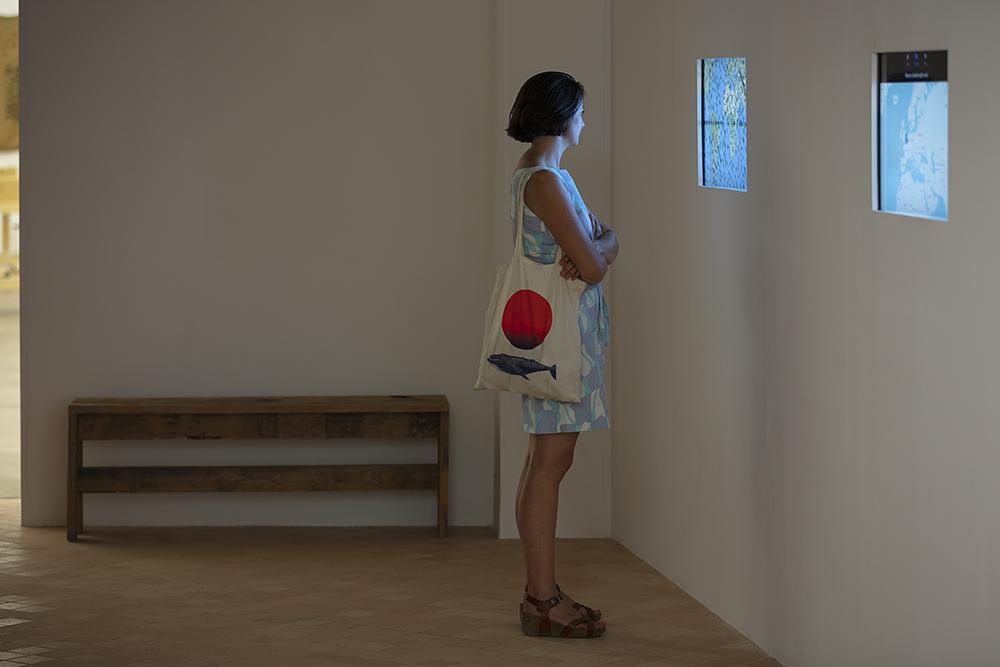Nos récits n'ont pas de prix, installation de François Martig. FAIRE COMMUNS, MAGCP, 2020. Photo © Yohann Gozard.