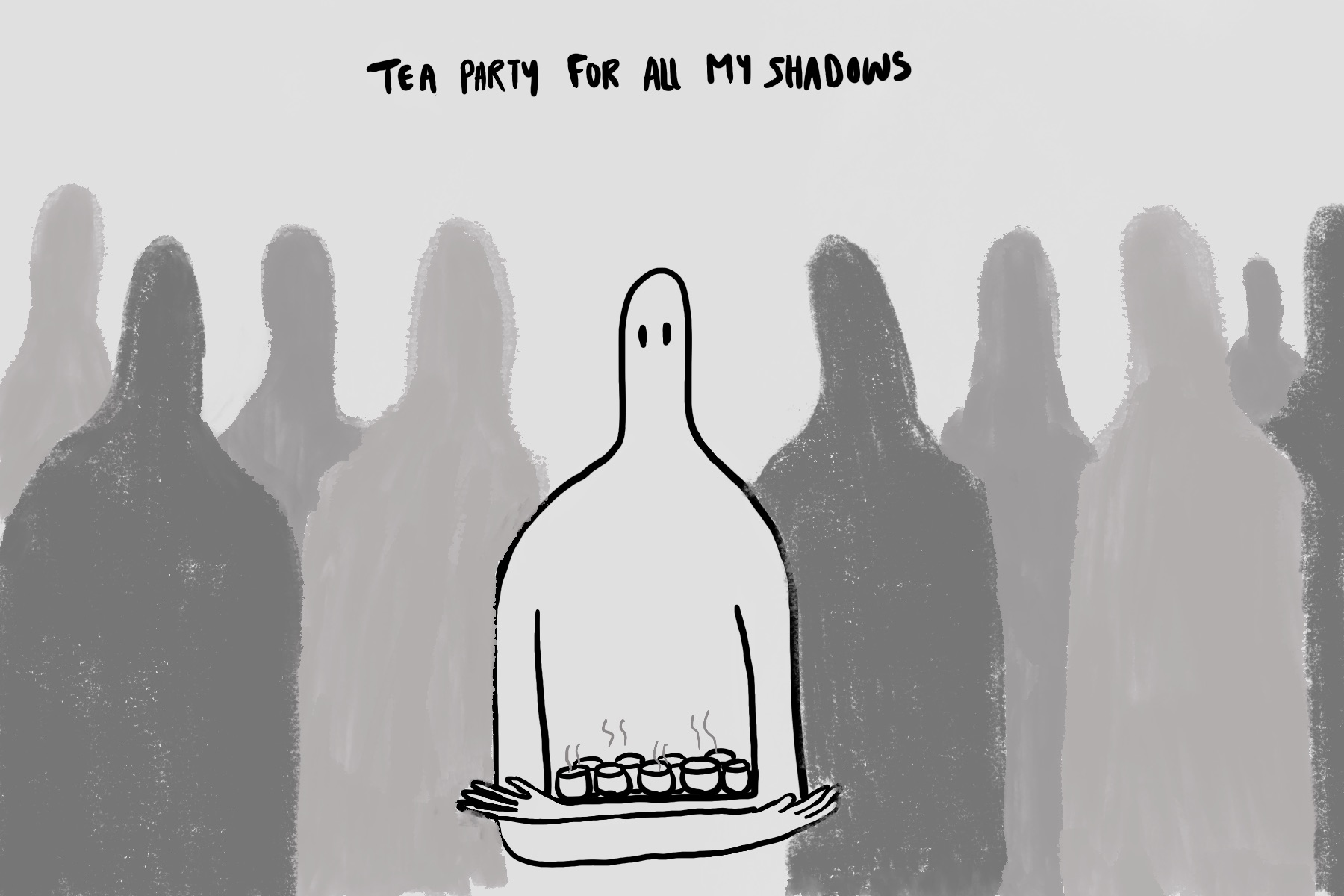 Tea party for all my shadows © Rana Ashraf