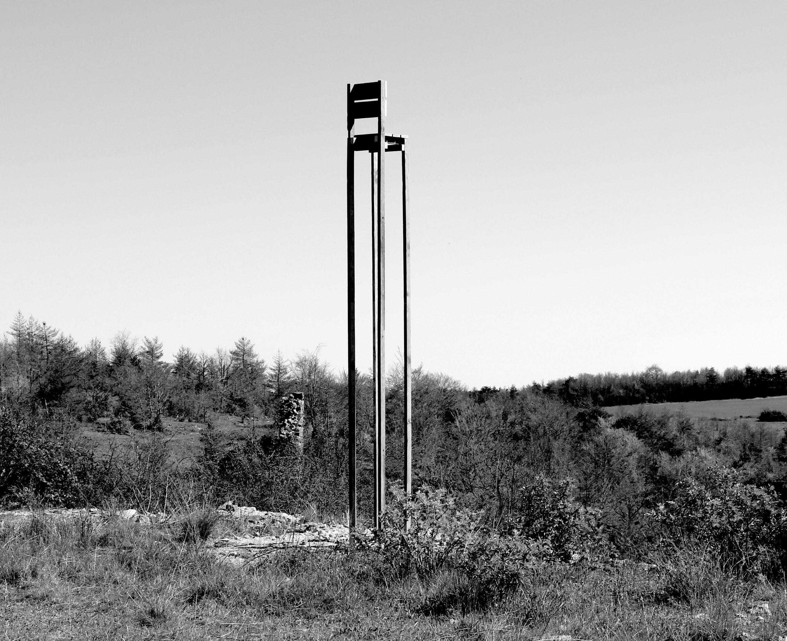 """""""Chaise pour prendre de la hauteur"""" Malo Gagliardini, 2016"""